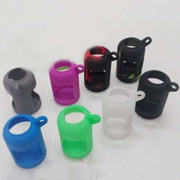 Wholesale E Ci - Wholesale colorful soft touch Silicone Covers For E Ci Carrying Cases For 30ml Oil Bottles E-liquid Bottles Assortedgs Silicone