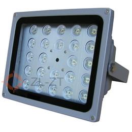 Personalizzato 30W 150metri (gamma di lavoro) LED (24 pz 850 / 940nm Chip) IR (InfraRed) Illuminatore Spotlight w / Interruttore fotocellula per illuminazione CCTV da led illuminatore luce cctv ir infrarossi fornitori