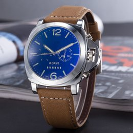 Wholesale Mens Digital Watch Leather Band - 2014 new Luxury bently brown leather band mens watch original clasp quartz movement stopwatch man wristwatch 1884 AAA quality