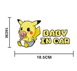 Wholesale Hot Bumper Stickers - wholesale price Bag monster cartoon car stickers car stickers vinyl for car wrapping 2017 hot trump bumper sticker