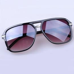 Wholesale Vintage Masculine - Wholesale- Big Frame Oversized Vintage Women's Men's Sunglasses Women Men Brand Designer Masculine Sun Glasses Female Male Feminine Glasses