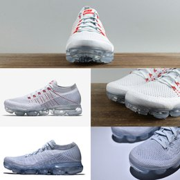 Wholesale Rubber Band Weave - New VaporMax Running Shoes Weaving racer Ourdoor Athletic Sporting Walking Sneakers for Women Men Fashion pink Casual maxes Size 36-45