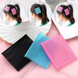 Wholesale Hair Bangs Pieces - Wholesale- 2016 Fashion Bangs Fixed Seamless Magic Posts (2 Pieces Set ) Bangs Paste Hair Clip Beauty Hairdressing Product 2FJ1