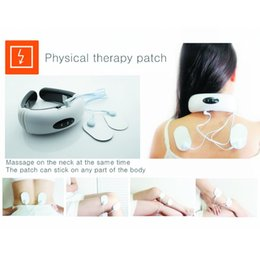 Wholesale Magnetic Instrument - Cervical Vertebra Therapy Instrument Portable Health Care Neck Pain Massager Electric Impulse Magnetic Treatment Therapy