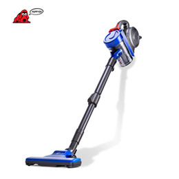 Wholesale Vacuum Cleaner Types - PUPPYOO Low Noise Home Rod Vacuum Cleaner Handheld Dust Collector household Aspirator Black&Blue WP3009