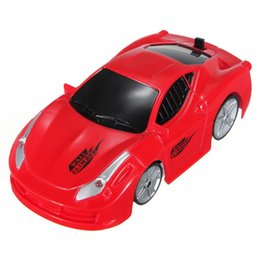 Wholesale Wall Racing Car Remote Control - Wholesale- Brand New Mini Wall Floor Climbing Climber RC Racer Remote Control Racing Car Kid Gift Toy Hot Sale