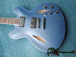 Wholesale Dave Grohl Guitars - Custom Shop Dave Grohl 335 Jazz Guitar In Blue New Arrival Wholesale Guitars Top Musical instruments