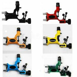 Wholesale Dragonfly Tattoo Machine Kits - New Pop Dragonfly Rotary Tattoo Machine Shader Liner Motor Gun Tattoos Professional Kits Supply Free Shipping
