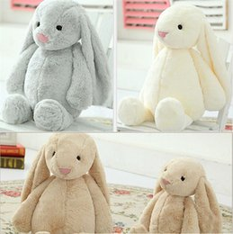 Wholesale Bunny Stuff Animal - Lovely Stuffed Bunny Rabbit Baby Girls Toys Easter Decorations 30CM 40CM 50cm Animals Soft Stuffed Dolls Toy Christmas Holiday Gifts