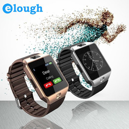 Wholesale Wholesale Fitness Electronics - Elough Wearable Devices DZ09 Smart Watch Support SIM TF Card Electronics Wrist Phone Watch For Android smartphone Smartwatch