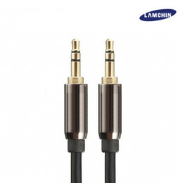 Wholesale 6ft Aux Cable - 3.5mm Audio Cable 1M 3FT 2M 6FT Stereo AUX Male to Male Jack for Car Headphone Speaker MP3