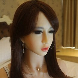 Wholesale Girls Male Real Doll - Pure Girl Face Sex Dolls Soft Skin Silicone Sex doll for Men Vagina Real Pussy Sexy Doll Chinese Lifelike Adult Love Doll