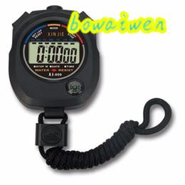 Wholesale-bowaiwen #0057 Waterproof Digital LCD Stopwatch Chronograph Timer Counter Sports Alarm от Поставщики английский для детей