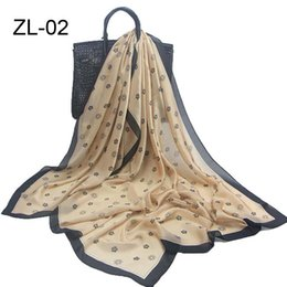Wholesale Lightweight Fashion Scarves - 2017 Promotion Free shipping 180*90cm Natural Silk Scarf   Shawl   Wrap For Women Lightweight Fashion Summer autumn winter Scarves