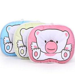 Wholesale Newborn Flat Head - Wholesale- Mambobaby Baby Pillow Infant Newborn Support Cushion Prevent Flat Head Pillow Baby Room Cots Support Head Sleep Shape Pillows