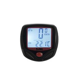 Wholesale Wiring Accessories Functions - New 23 Functions Sunding Waterproof Wired Bike Computer Digital LCD Backlight Bicycle Speedometer Odometer Bike Accessories