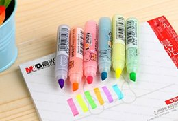 Wholesale cute highlighters - Wholesale-Free Shipping New cute mify Rabbit DIY Multifunction fluorescent pen Color Highlighter marker Wholesale