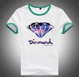 Wholesale Diamond Supply Cheap - s-5xl Free Shipping MEN Brand Cheap 20 styles DGK Diamond Supply T-Shirts quality short sleeve tops