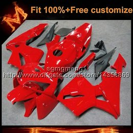Wholesale Plastic Injection Molded - 23colors+8Gifts CBR600RR 05 06 05-06 Fairings Injection MOLDED Body Kit Fairing For honda CBR 600 RR 2005 2006 ABS Plastic Bodywork Set