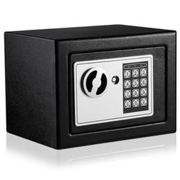 elektronische tastensperren Rabatt Großhandels-Digital elektronische Safe Box Keypad Schloss Geld Schmuck Dokumente für Home Hotel Office Sicherheit Security Box
