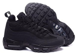Wholesale Air Springs - Air 95 20th Anniversary MID Shoe,2016 new Air 95 Sneakerboot,Army Boots Men's Autumn Winter ankle,Sealed-zip Training Retro Sneakers shoes