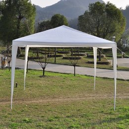 Wholesale 10 x10 FT Canopy Party Wedding Tent Heavy Duty Gazebo Pavilion Cater Event Outdoor Market