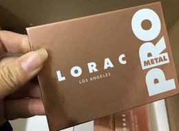 paleta mega lorac Desconto 2017 lorac pro metal 8 tons paleta da sombra de olho nova paleta vs lorac mega pro 3 los angeles paleta edição limitada eyeshadow