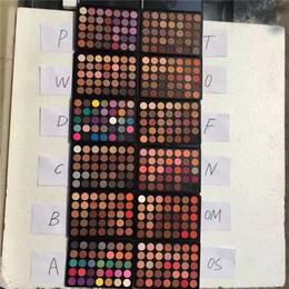 Wholesale 15 Color Eyeshadow Palette - Eyeshadow 35 color Eyeshadow Natural Matte Eyeshadow Palette 35P 35W 35D 35C 35B 35A 35T 35F 35O 35N 35OM 35OS 15 Style vs Kylie Shadow