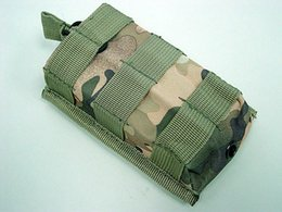 Wholesale Talkie Walkie Nylon - Tactical Airsoft Molle Open Top Magazine Walkie Talkie Pouch bag case