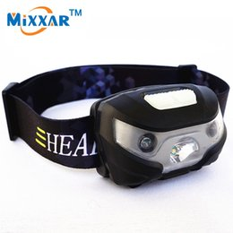 Wholesale Bicycle Double - USB LED Bike Bicycle Light Finger Induction Headlight 3000LM Waterproof Double-switch Rechargeable Headlamp 3 Modes Zoomable