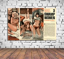 Wholesale Nude Woman Abstract Painting - Mort Kunstler Swamp Women ,Home Decor HD Printed Modern Art Painting on Canvas (Unframed Framed)