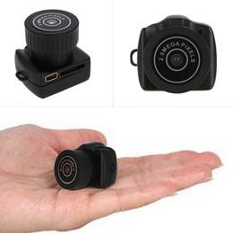Wholesale Ccd Dv Camcorder Video Camera - Micro Smallest camera HD CMOS 2.0 Mega Pixel Pocket Video Audio Camera Camcorder 480P DV DVR Recorder 720P JPG