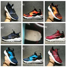 Wholesale Air Man Max - 2017 New Air Huarache IV Ultra Sports shoes Huraches Maxes trainers for men & women Multicolor shoes Triple Huaraches sneakers free shipping