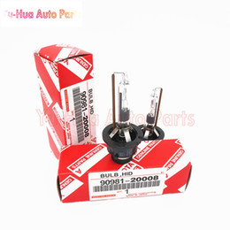 Wholesale D2r Xenon Hid Bulbs - 2pcs D2R 90981-20008 6000K 35W 12V HID Xenon Bulb Discharge Headlamp Standard red packaging