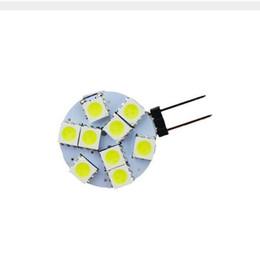 Wholesale Rv Reading Light - 100X G4 LED 5050 9SMD White Warm White Marine RV Reading Car Led Light Bulbs Lamp 12V