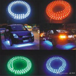 Wholesale Nb Red - 24cm 24LED Car Truck flexible PVC LED Strip Lights Light 24 cm XSDPD-NB For car Decoration