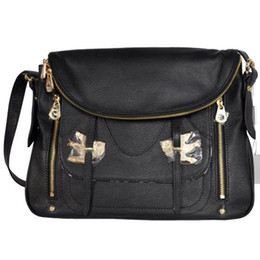 Wholesale Purse Birds - Women's Two Birds Bag Natasha Flap Bag Shoulder Bag Handbag Purse 629 Black