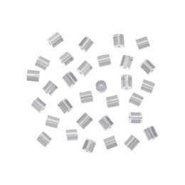 Wholesale Hook Fish Packing - Wholesale Pack of 144pcs bag, Clear Rubber DIY Mini Small Earring Safety Backs Set for Fish Hook Earrings