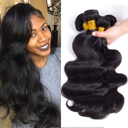 Wholesale Wholesale For Brazilian Human Hair - Daily Deals Best Sale Brazilian Body Wave Virgin Hair Weave Bundles Cheap Peruvian Malaysian Indian Remy Human Hair Extensions Just For you