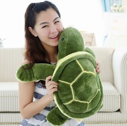 Wholesale Green Turtle Pillow - 35cm Plush Tortoise Toy Cute Turtle Plush Pillow Staffed Cushion for Girls Vanlentine's Day Gift