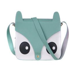Wholesale Cartoon Fox Satchel Bags - Wholesale-New Design 2016 Hot Sale Cartoon Fox Handbags Girl Women Shoulder Bag Tote Satchel Cross Body Bag Jul15