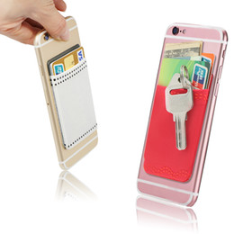 Wholesale Remove Card - Cell Phone Card Holder 3M Remove Adhesive Stick On wallet Phone Wallet Case As Credit Card Holder,Cell Phone Case,Card Case