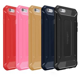 Wholesale Ultimate Iphone Case - For Iphone 7 se 6 6S Plus Samsung S6 S7 EDGE NOTE 7 Resilient Rugged Case Capsule Armor Ultimate protection soft TPU cover