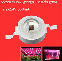 Wholesale Fish Grow Light - Wholesale- Grow LED Diodes 660nm 2.0-2.4V 20-40lm Special Of LED Grow Lighting Fish Tank Lighting 30pcs $6.00 Free Shipping