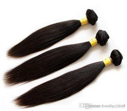 Wholesale Cheap 5a Brazilian Hair - Best Selling Cheap Unprocessed nature Straight 8 - 30 inch, 5A quality indian nature hair from india 4 PCS Lot 3,4,5pcs lot