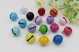 Wholesale Christmas Bell Crafts - 215MM multicolor Jingle Bells Christmas Tree Family Christmas Decoration Pendants DIY Crafts Handmade bag keychain ring bag Accessories 396