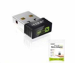 Wholesale Usb Repeaters - EDUP 150M USB Wifi Wireless Nano Adapter 150Mbps IEEE 802.11n g b Mini Repeater LAN Ralink 5370 Network Card EP-N8531