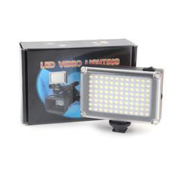 Wholesale Photo Dslr - AriLight Mini LED Video Light Photo Lighting on Camera Hotshoe Dimmable LED Lamp for Canon Nikon Sony Camcorder DV DSLR 1305045
