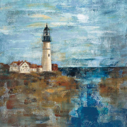 Wholesale Lighthouse Abstract - High quality Handmade Silvia Vassileva Lighthouse Dream oil Paintings abstract art for Bedroom decor