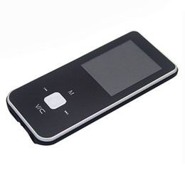 Wholesale Mini Clip Mp3 Media Player - Wholesale- Unique Mini USB Clip MP3 Media Player LCD Screen MP3 Video Radio Music Movie Player FM 8GB MP3+USB Cable+Earphone gret gift